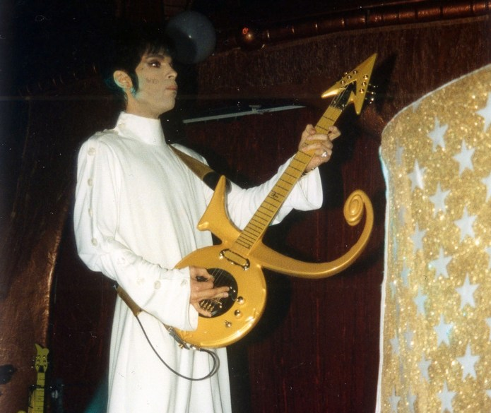 Prince at Glam Slam on South Beach