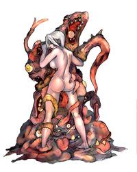 demon girl succubus hentai gif