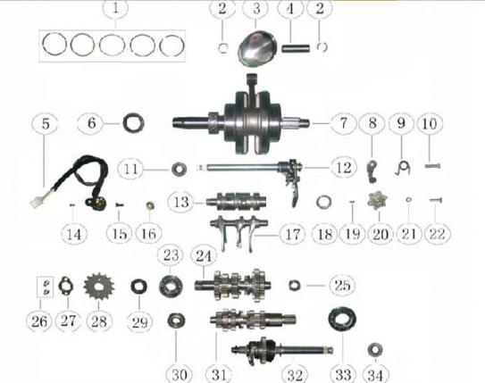 Atv Engine Diagram Wiring Diagram
