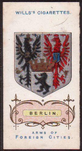 Berlin - Wappen von Berlin - Coat of arms of Berlin (crest