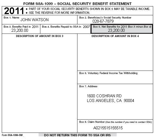 tax form social security income - Vocaalensembleconfianzanl - social security form
