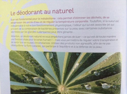 Déo naturel