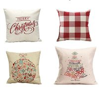 10 Christmas Pillows that Won't Break the Bank