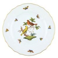Herend Rothschild Bird Dinner Plate Motif #6 at Herendstore