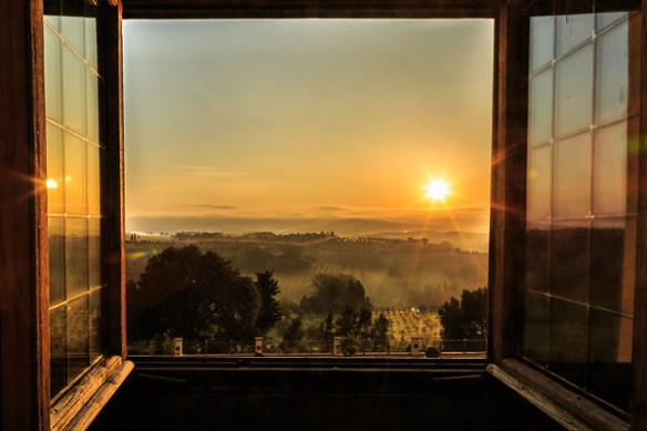 sunrise-through-open-window