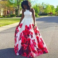 20 Amazing Prom Dresses & Hairstyles for Black Girls 2016