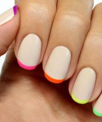 60 French Tip Nail Designs   herinterest.com/