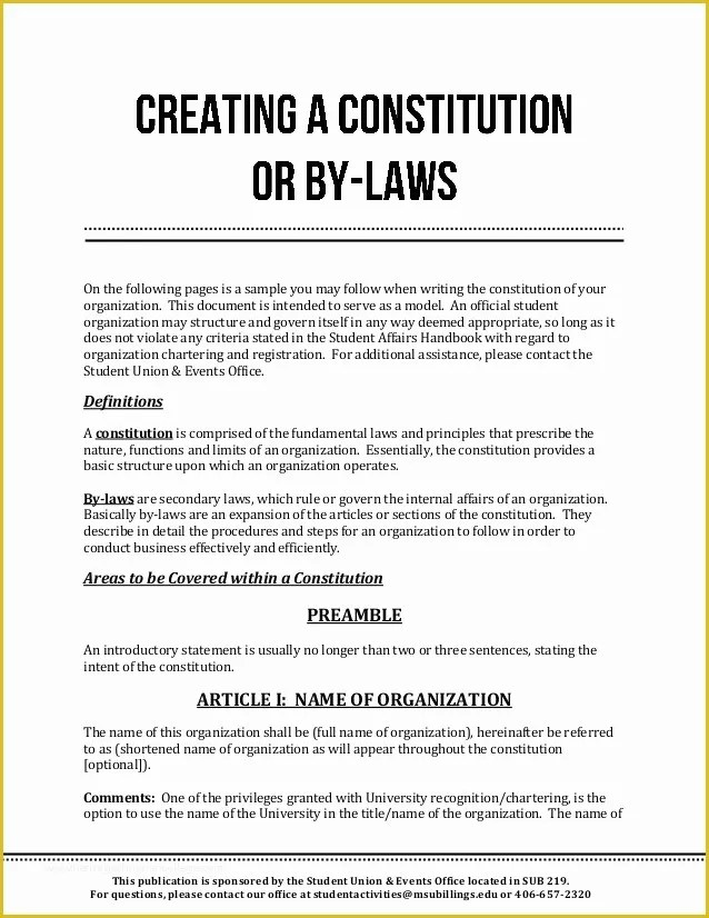 Free bylaws Template Of bylaws Template Sample Free Download