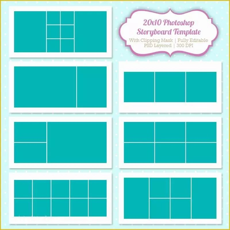 Free Collage Templates Of Shop Collage Template