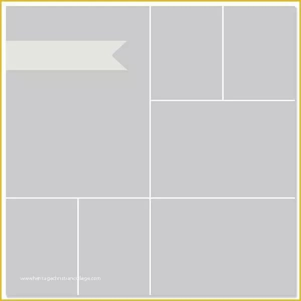 Free Photo Collage Templates Of Free Collage Templates From Simple