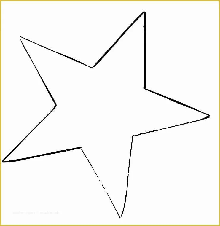 Free Printable Star Template Of Stars to Print and Cut Out Star