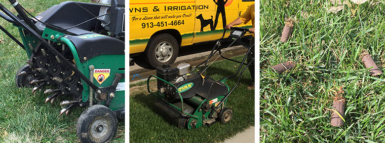 Aerating Vs Verticutting, Seeding Kansas City Lawn