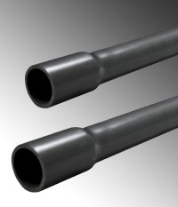 PVC Schedule 80 Pressure Pipe - Belled End (Gray ...