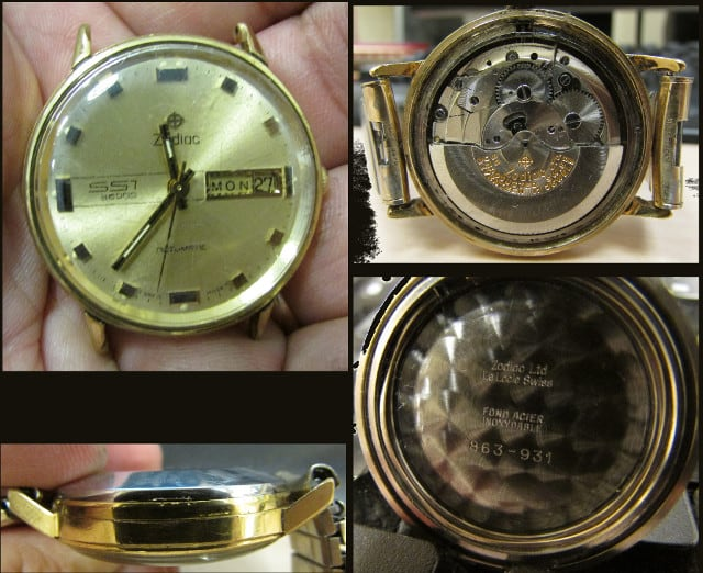 Zodiac SST 36000 Wrist Watch