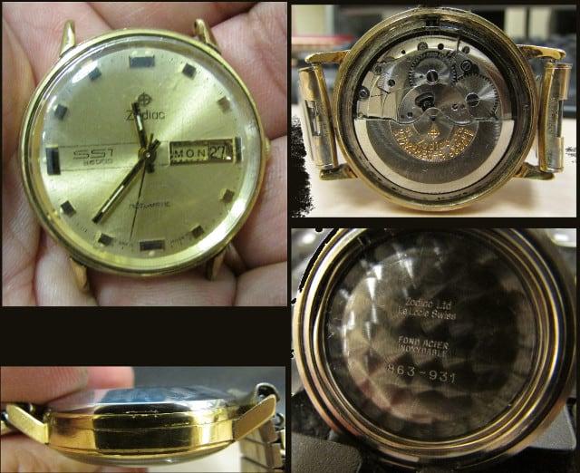 Zodiac SST 36000 Wrist Watch