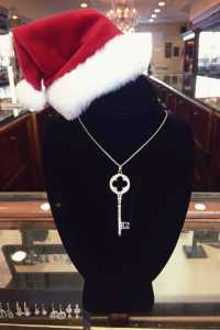 Herkner Facebook Giveaway #5…Sterling Silver Key and Chain