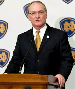 Notre Dame athletic director, Jack Swarbrick