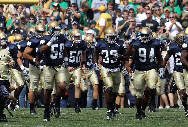 Notre Dame Football (Jonathan Daniel, Getty Images)
