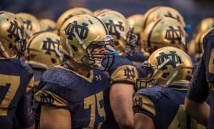 Notre Dame vs. Purdue, Shamrock Series Game (Matt Cashore USA TODAY Sports)