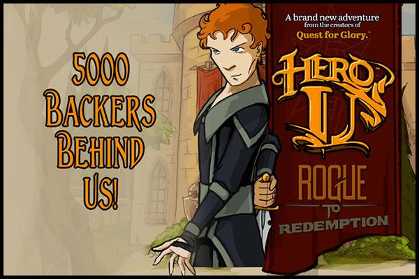 5000 Backers