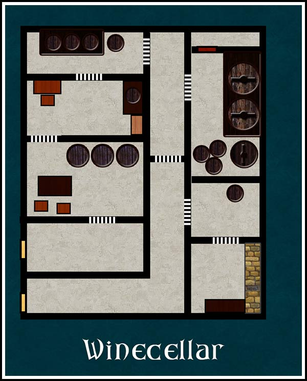 Wine Cellar Layout