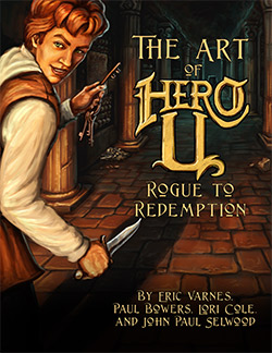 The Art of Hero-U Book
