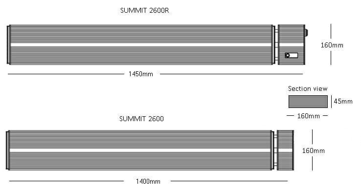 Herschel Summit 2600 Indoor And Outdoor Space Heating