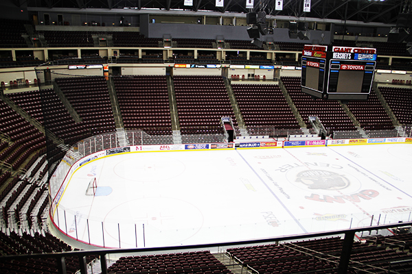 Seating Chart Hershey Bears Hockey