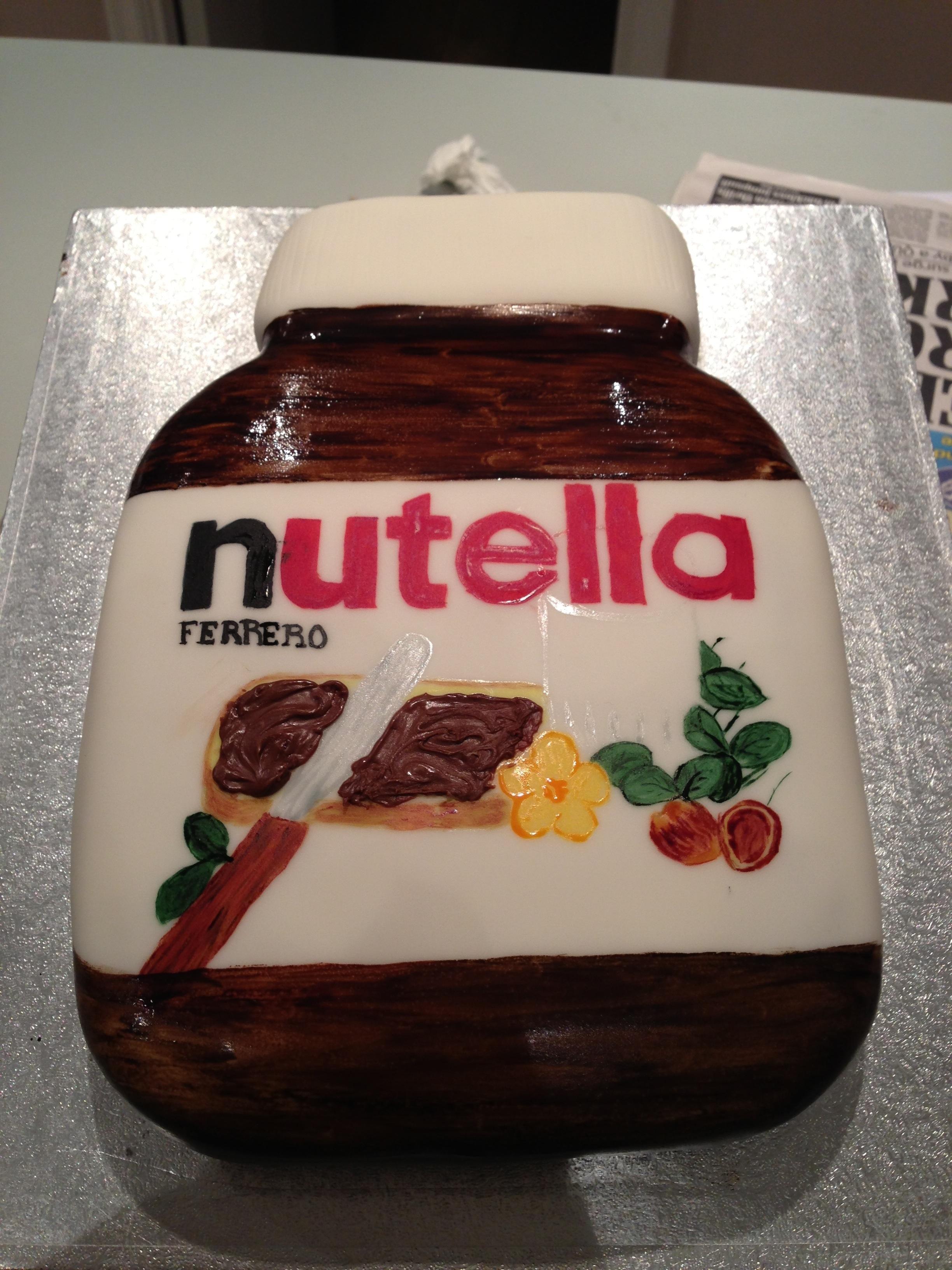 Nutella jar   Cakes by Melissa