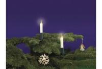Rotpfeil Lichterkette mit 15 Kerzen, Schaftkerzen - innen ...