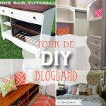 Tour de DIY blogland orange