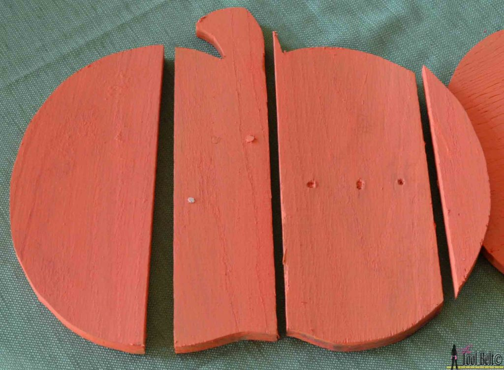 Rustic pallet pumpkin paint wood