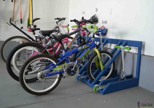 Medium Of Garage Bike Rack