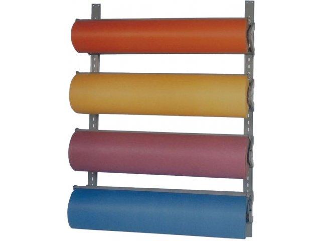 Horizontal 4 Roll Paper Dispenser Wall Rack Bmn T293