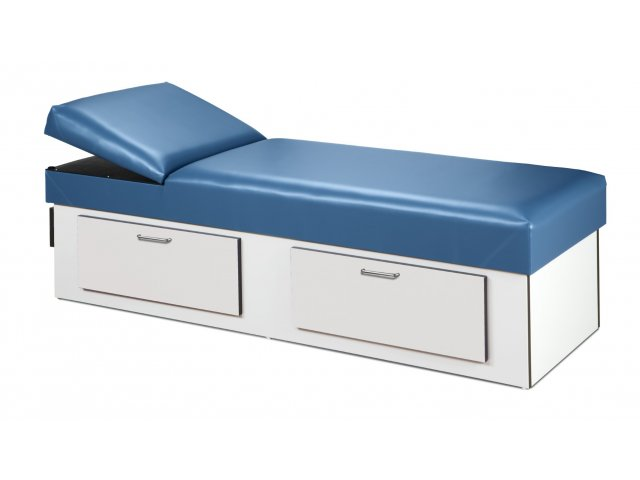 First Aid Recovery Couch With Double Drawer Storage Cln