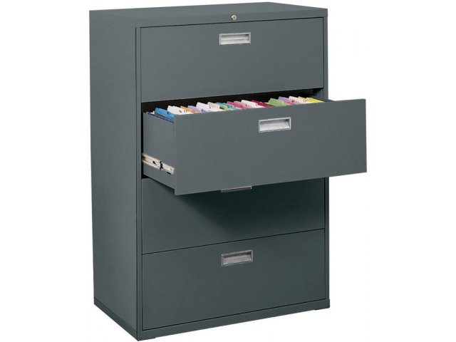 600 Series Lateral File Cabinet 4 Drawer 36w Sfl 364