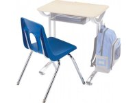 """Padded Poly Shell Classroom Chair 18""""H, Classroom Chairs"""
