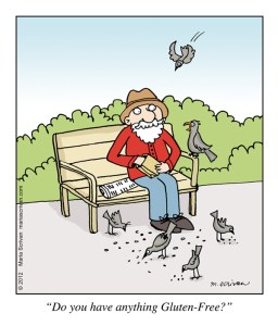 Strip: Glutenvrije vogels