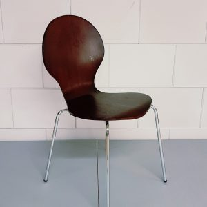 Design stoel Great kuipstoel wenge