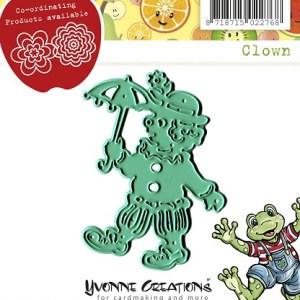 YCD10040 - Clown - Yvonne Creations - Opkikker.indd