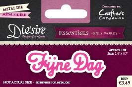 Diesire Essentials Only Words - DUTCH - €3.49 SKUS