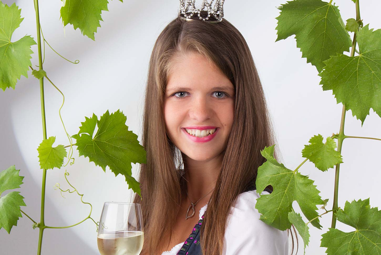 Weinprinzessin Melanie