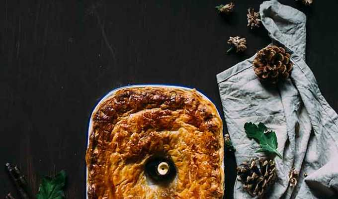 Lost key to discipline | Apple Pie with Puff Pastry