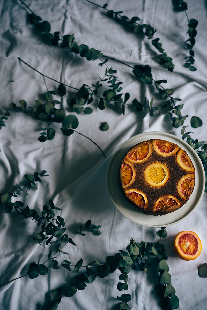 Almond and Blood Orange Cake By Roy