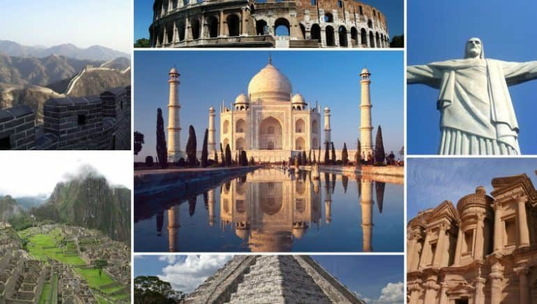 Astounding Architecture New Seven Wonders of the World