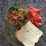 Dr. Greger's Daily Dozen – lunch idea