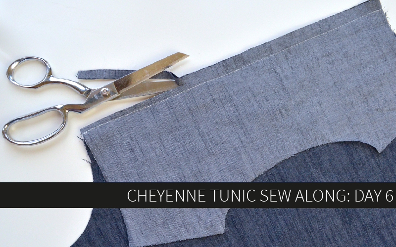 Cheyenne Tunic Sew Along Day 6: View A and Long Sleeves
