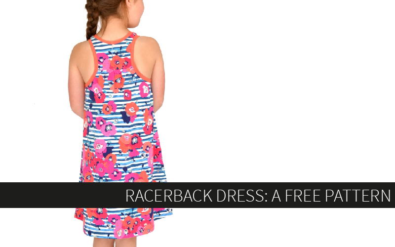 The Racerback Dress – A FREE Pattern!