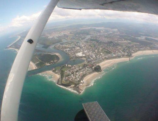 Skydive-Surfers Paradise, Australia