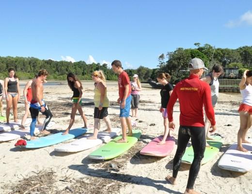 Mojo Surf Camp, Australia 1
